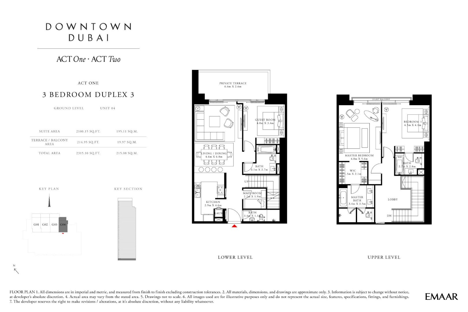 Act One Act Two Downtown Dubai Apartments And Studios For Sale